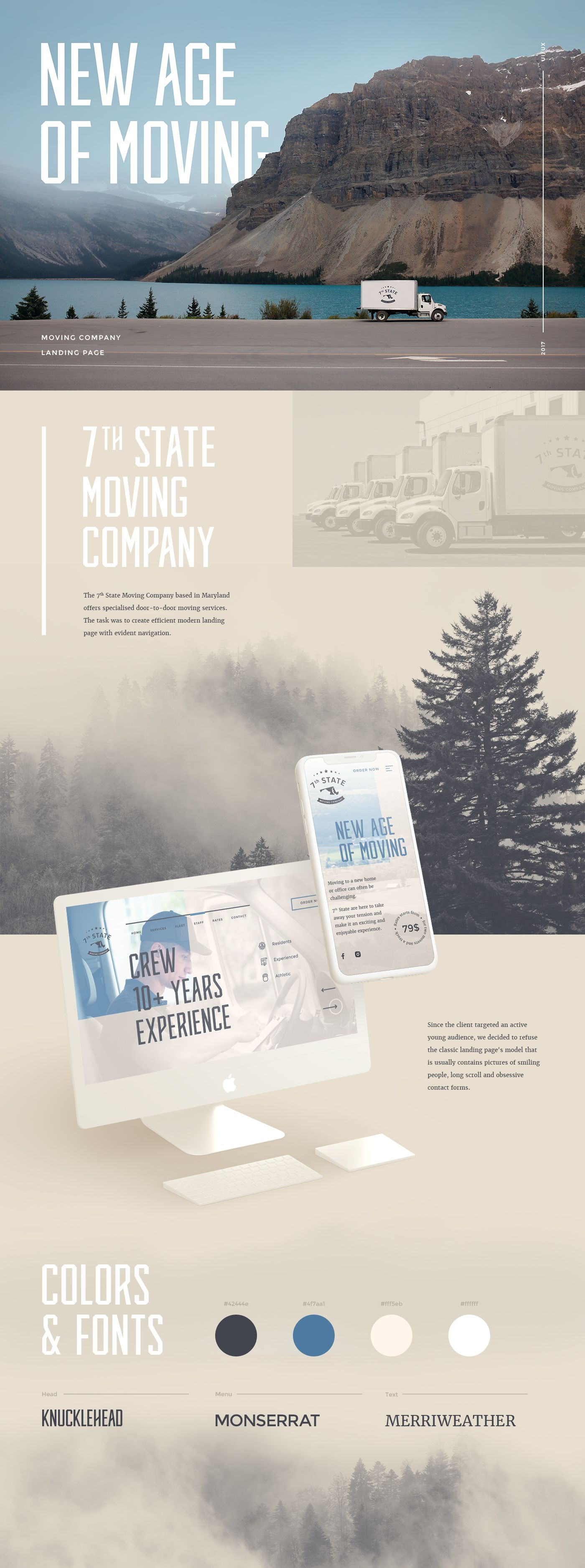 7th State Moving on Behance