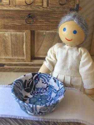zakka life: How To Make Miniature Bowls