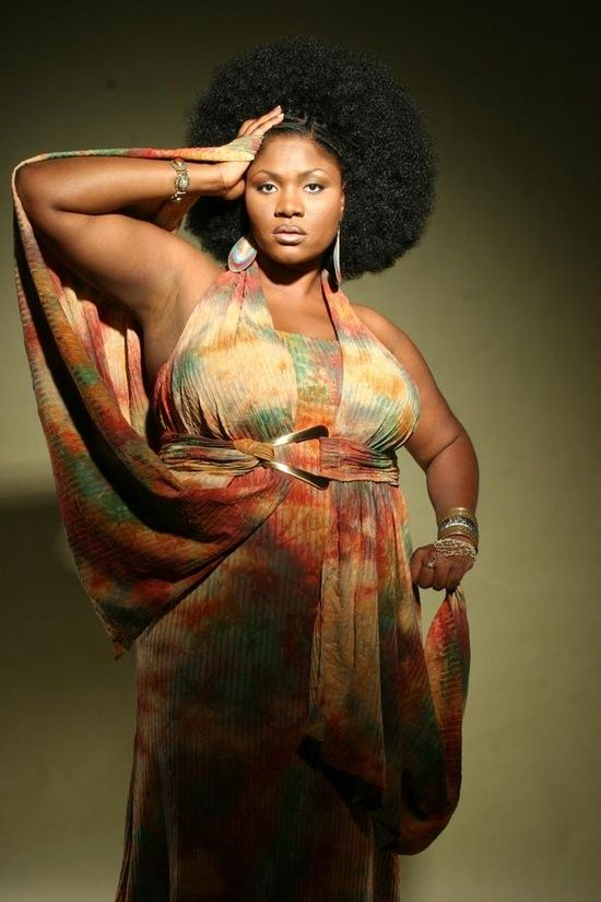 Spinoff: Celebrating Beautiful Plus-size black women - Page 12 ...