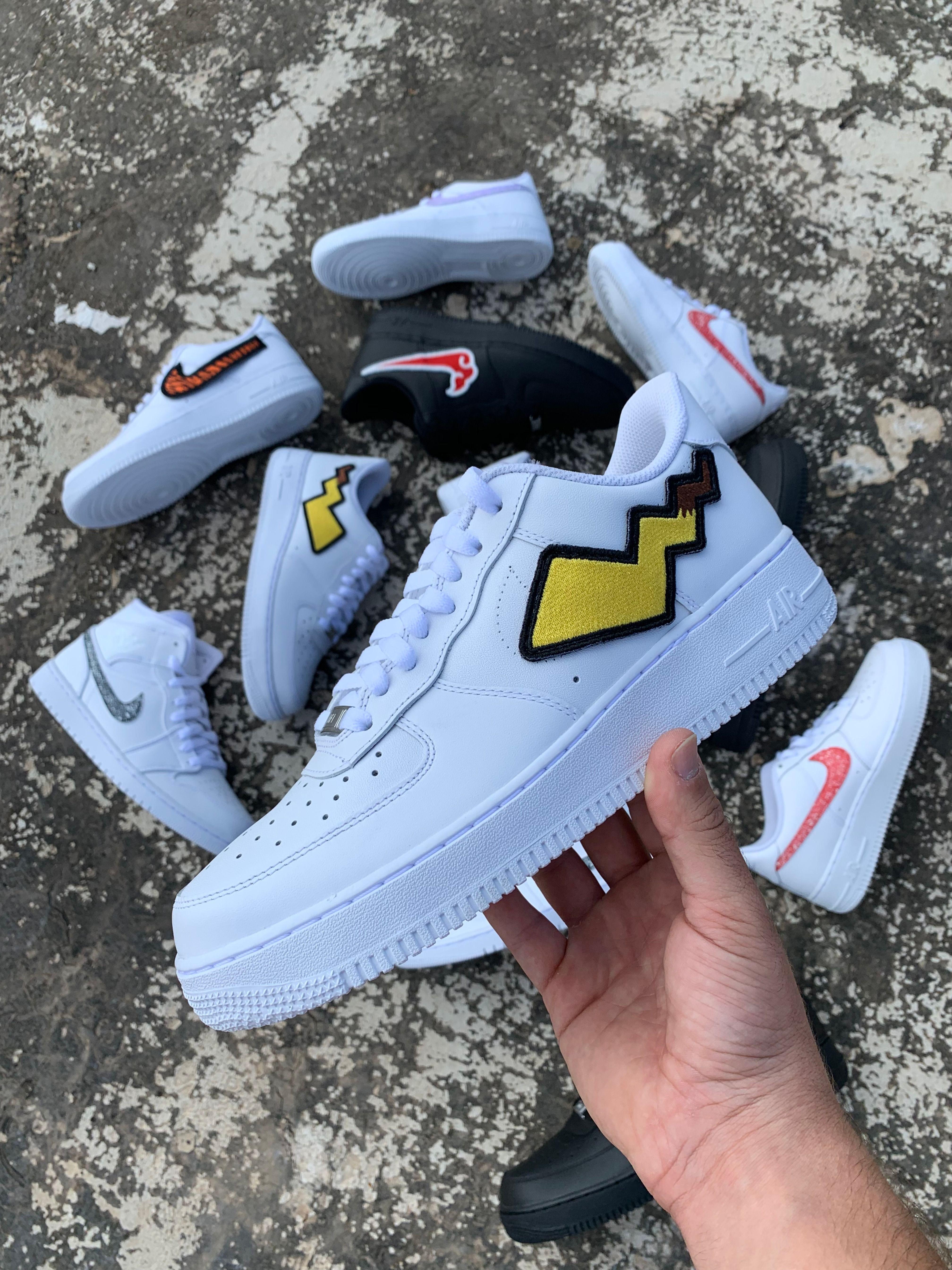 pokemon custom af1 | Custom nike shoes