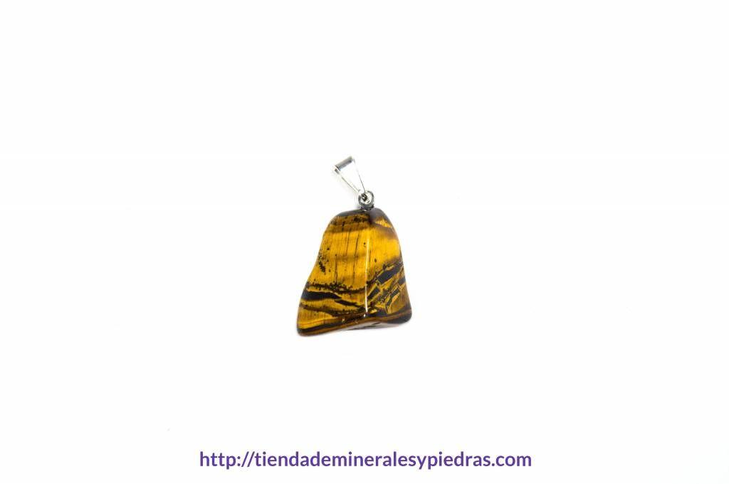 Descripción: el ojo de tigre es un mineral protector que ha sido llevado tradicionalmente como talismán contra maldiciones y malas voluntades. Muestra el uso correcto del poder y nos hace sacar nuestra integridad. Ayuda a conseguir nuestros objetivos.