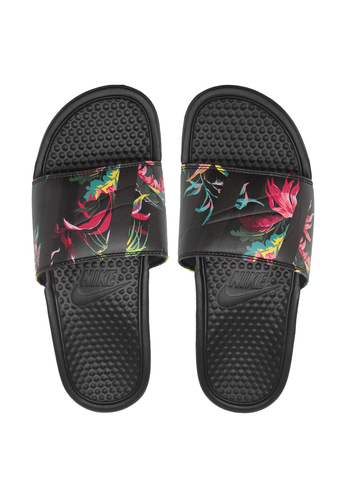 Chinelo Nike Sportswear Benassi Jdi Print Preto | Chinelos