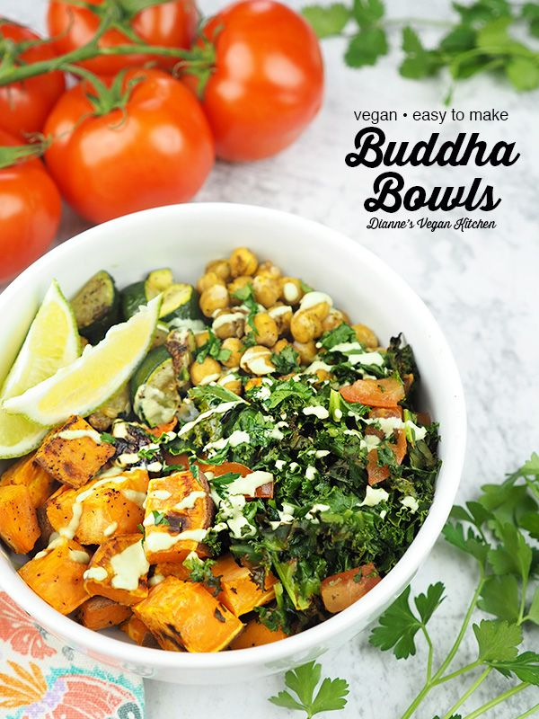Topped With Homemade Cilantro Lime Dressing These Buddha