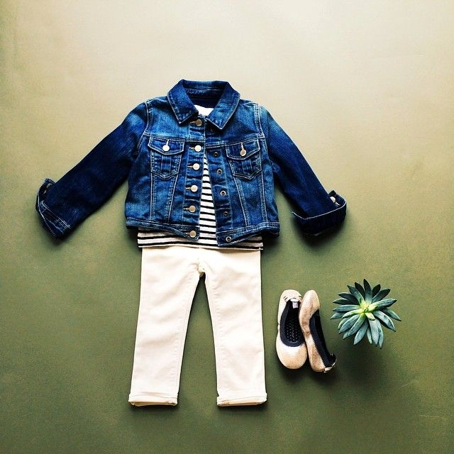 layer your little one in a classic. Baby Gap Girls