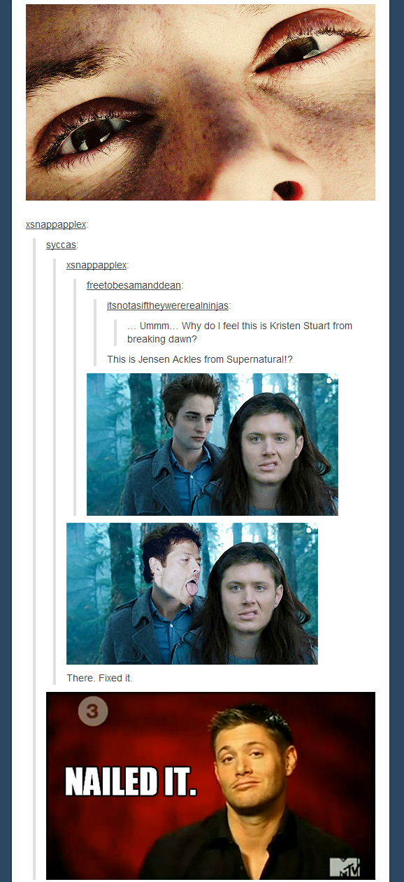 Oh my god    I am laughing soooo hard right now! This isn't