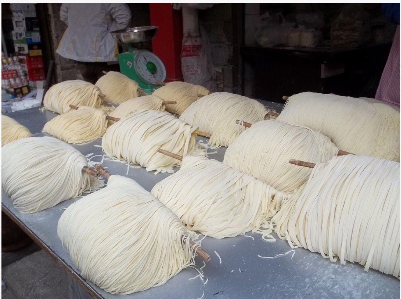 新鮮手制麵