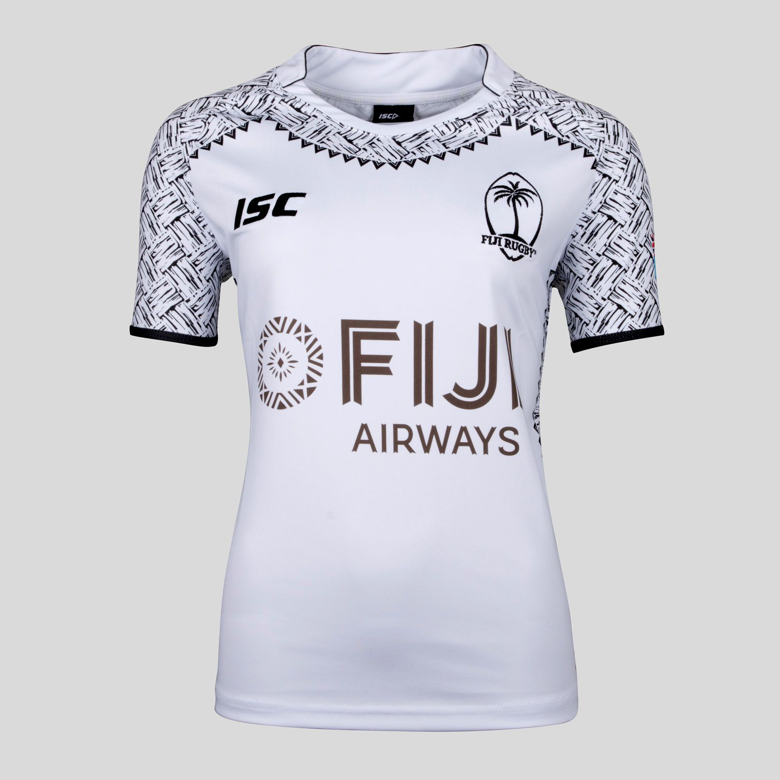 b5bfe389c4c rugby girls Fiji 7s 2017/18 Ladies Home S/S Rugby Shirt | Fiji Rugby ...