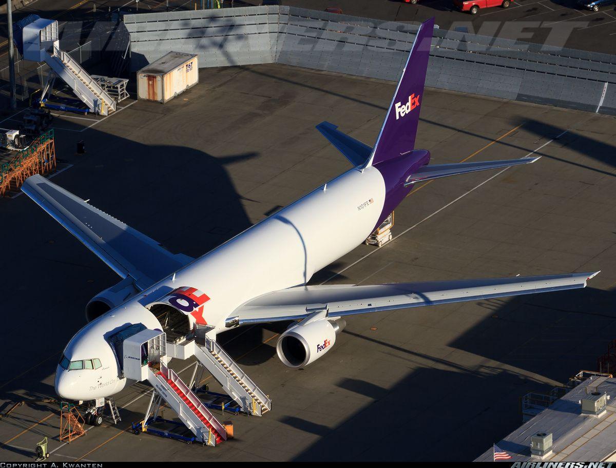 """""""Hannah,"""" the first 767300ERF for FedEx (Dengan gambar)"""