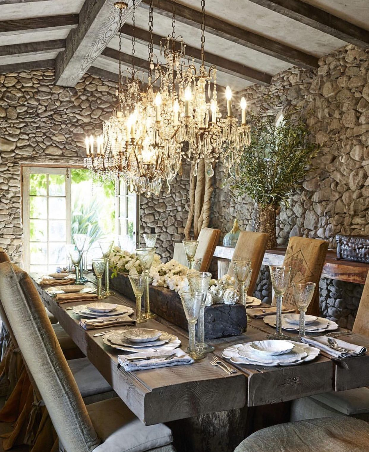 12 Rustic Dining Room Ideas: Pin By Shelly Fearno Waterman On Home