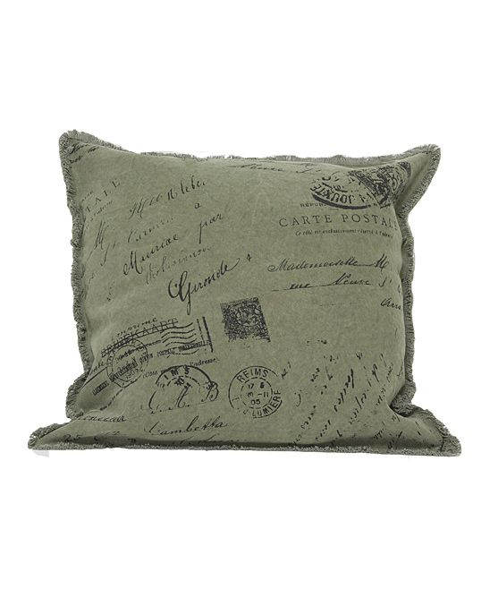 Letters Pillow | Daily deals for moms, babies and kids