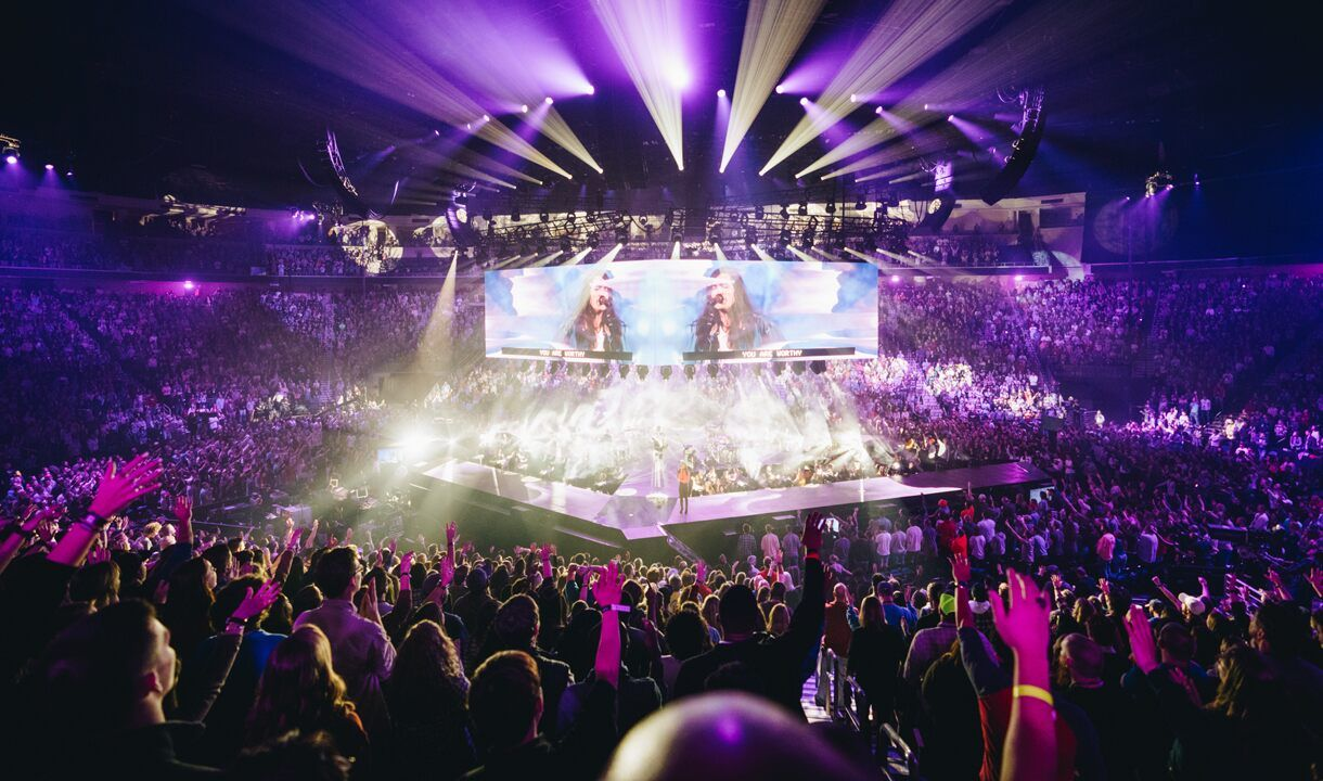 65000 college students ring in New Year worshipping Jesus  Fox News