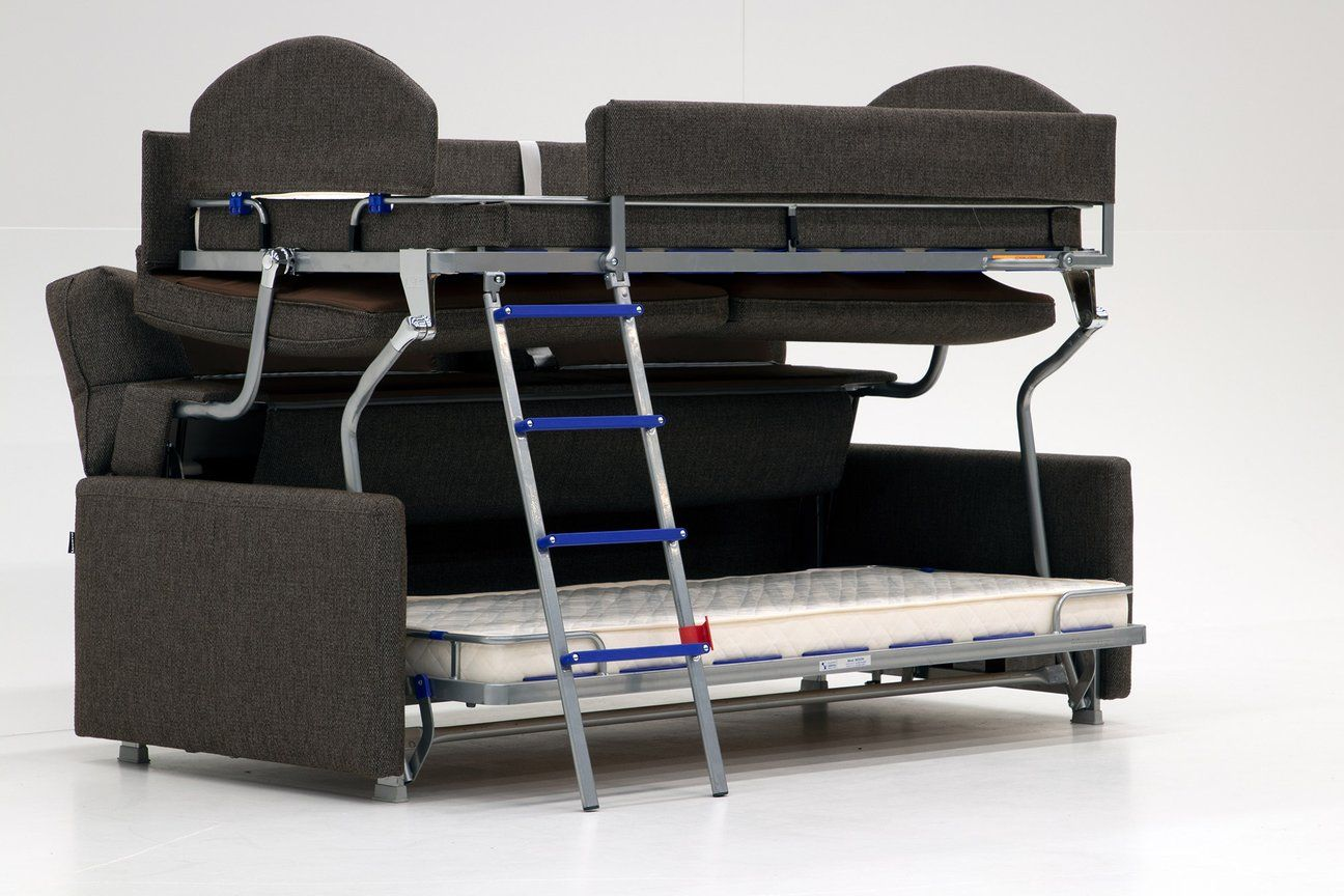 Elevate Bunk Bed Sofa Sleeper Luonto Furniture Couch Bunk Beds