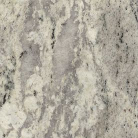 Sensa 2 In W X 3 In L Silver Silk Granite Kitchen Countertop