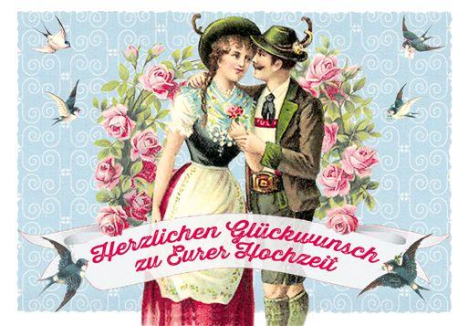 Striezi®-Grußkarte - Herzlichen Glückwunsch zu Eurer Hochzeit