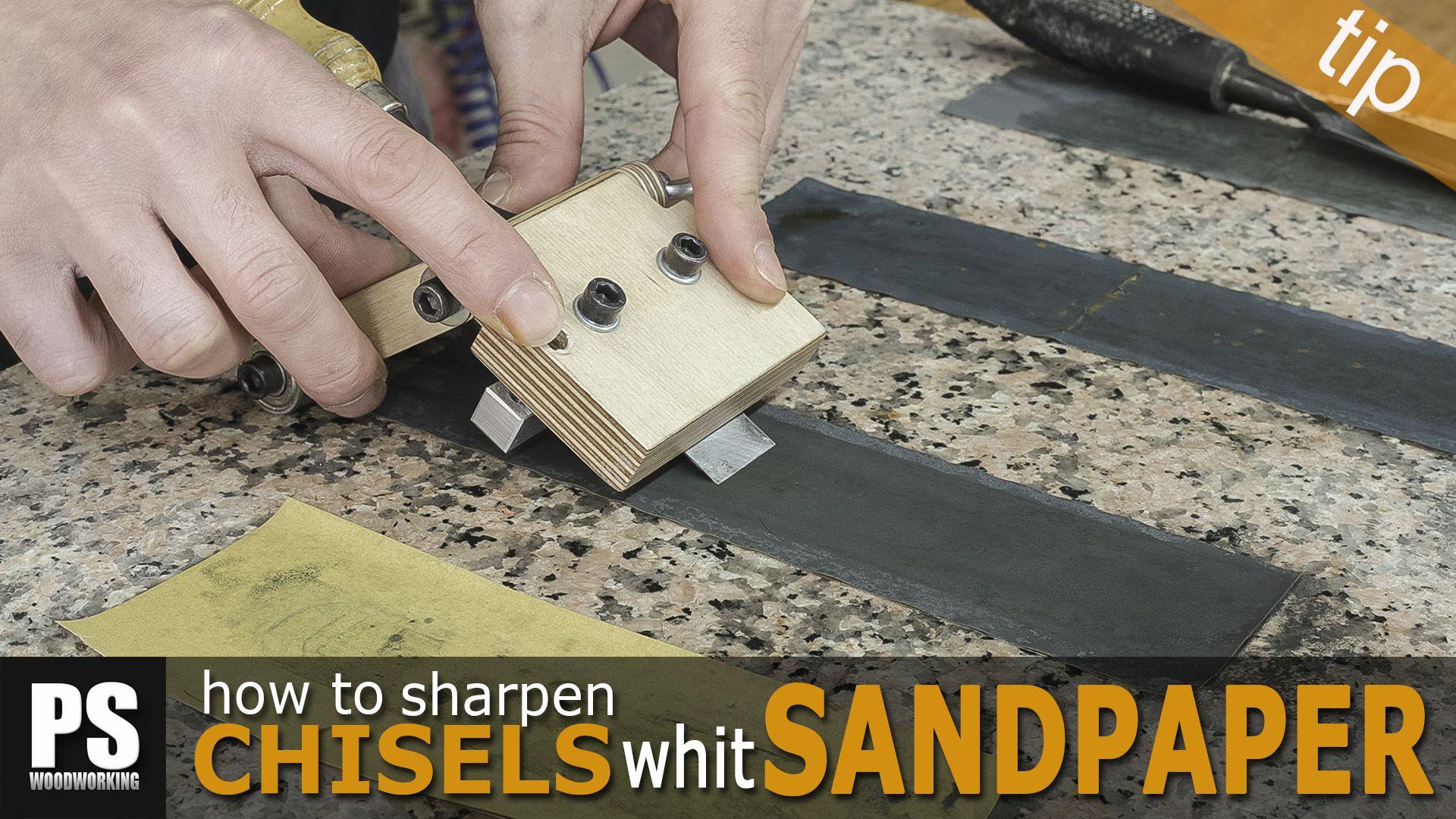 En este artículo mostraré como afilar nuestros formones y cuchillas ...