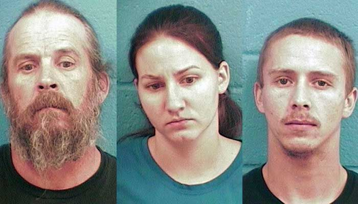 Three people have been arrested by Lincoln County Narcoticsofficers and deputies on drug and contraband charges.