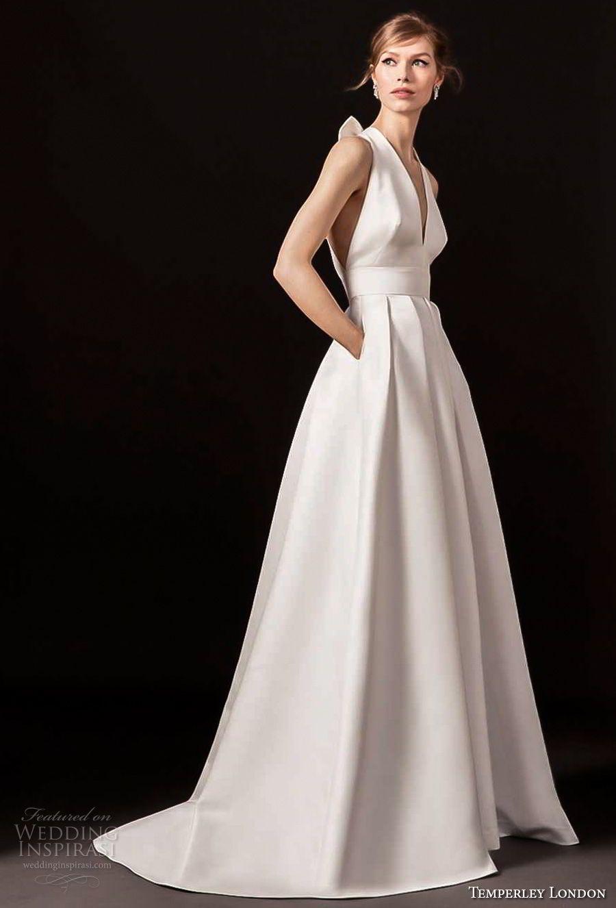 "Temperley London Spring 2018 Wedding Dresses — ""Dahlia"" Bridal ..."