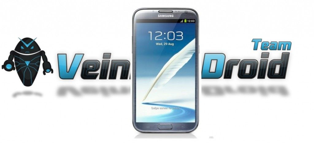 installing VeinDroid ROM on Galaxy Note II GT-N7100  Here is