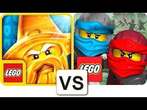 Lego Ninjago Wu Cru Vs Lego Nexo Knights Merlok 2 0 Gameplay Hd 1