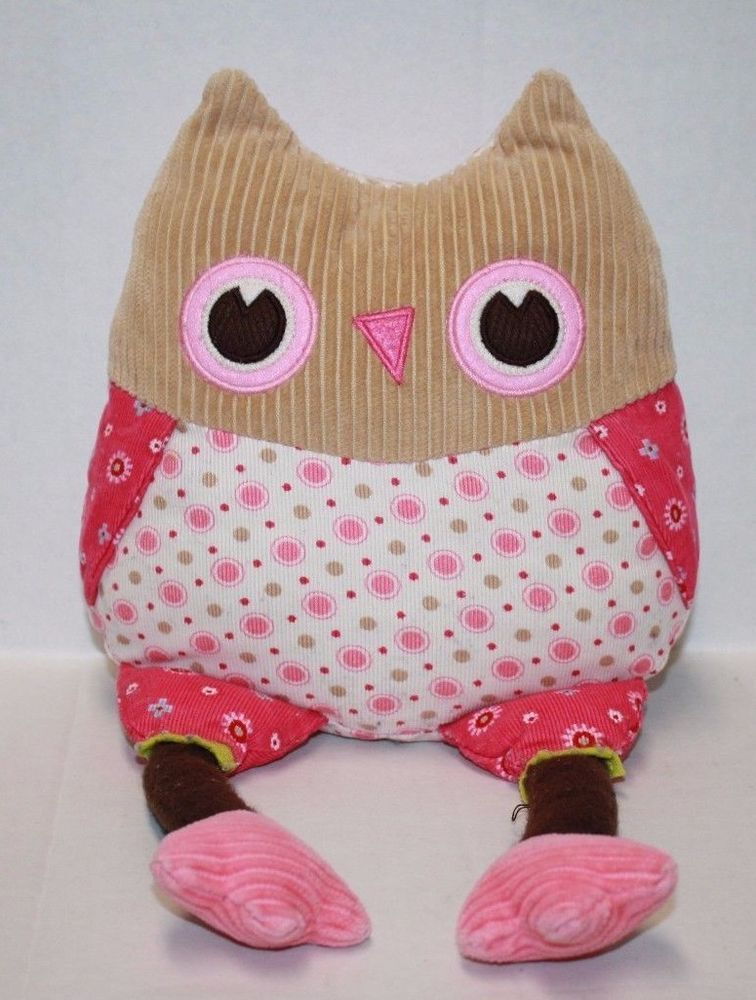 Pottery Barn Kids Penny Owl 15 Quot Soft Toy Corduroy Plush