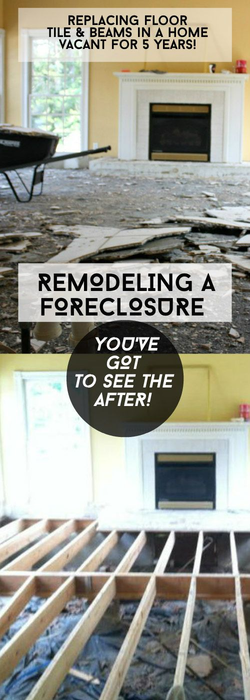 Forclosure Remodel: Home Remodeling, Flooring, Home