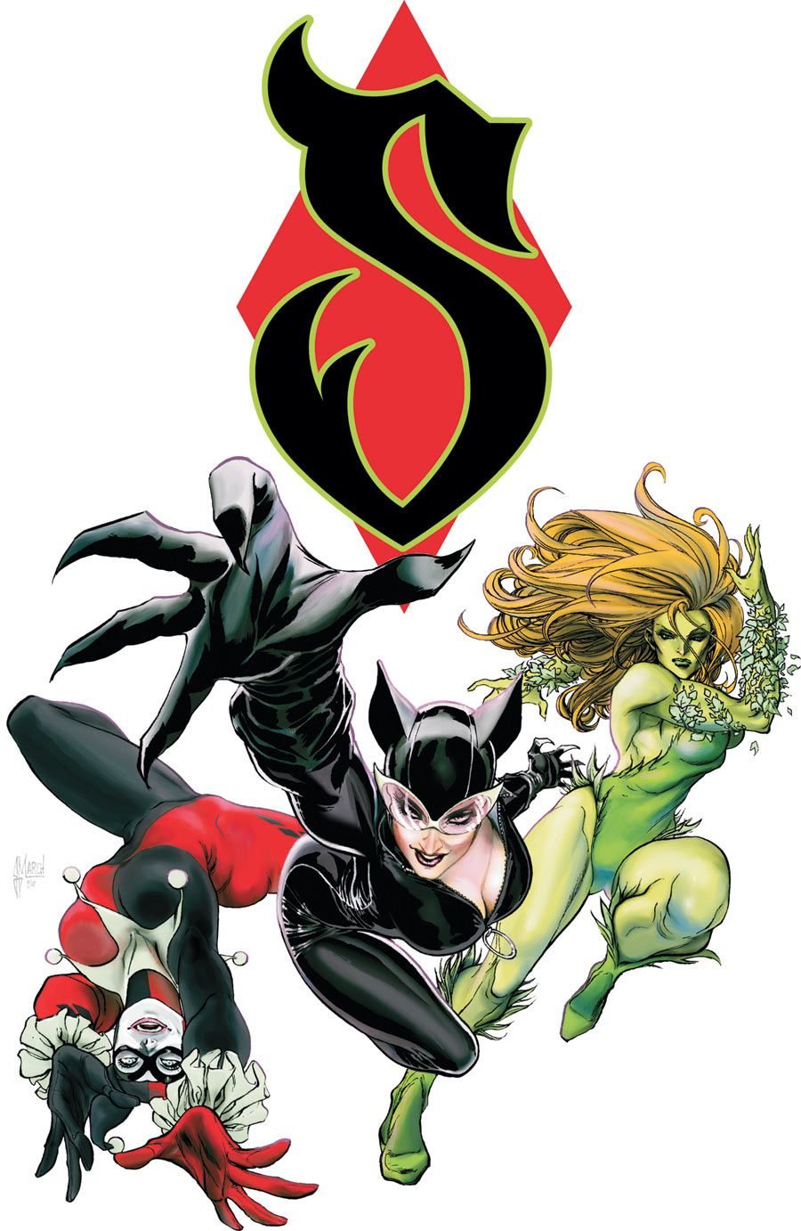 Gotham city sirens guillem march comics and more pinterest gotham city sirens guillem march biocorpaavc Images