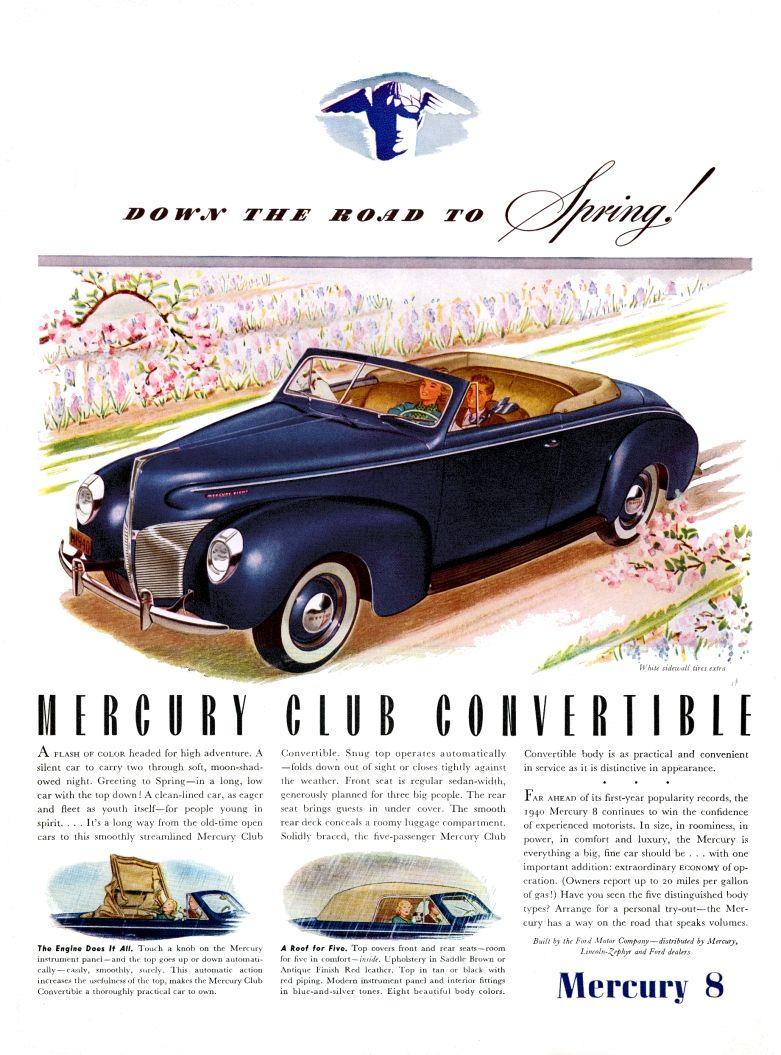 Pin by Bryan Wood on MERCURY CLASSICS | Retro cars, Mercury