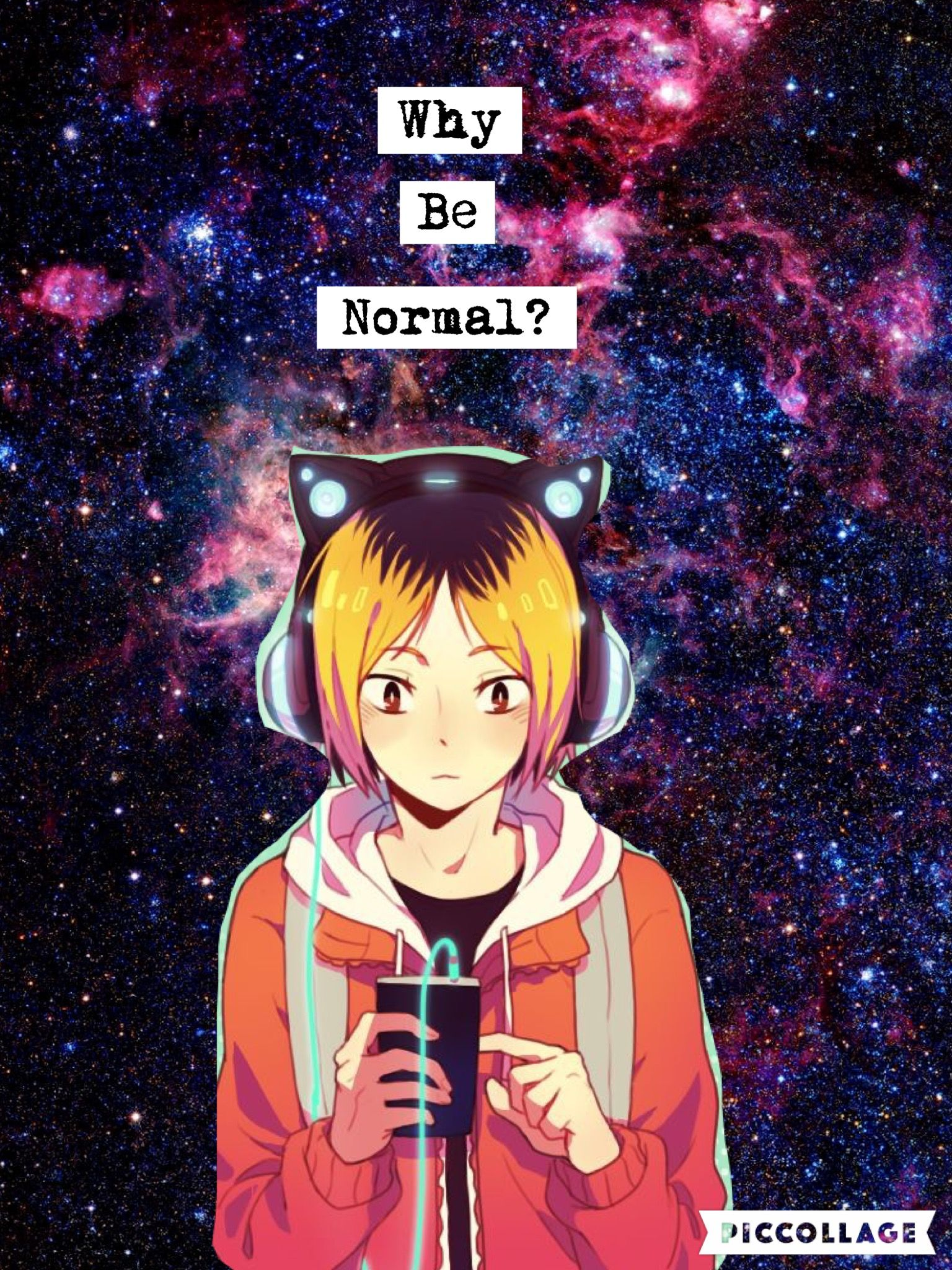Yeah why normal?  OTAKU  Anime wallpaper phone, Anime art, Haikyuu