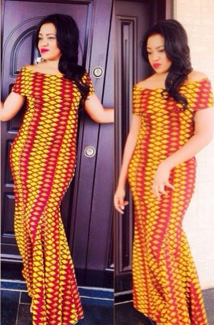 African Dresses Ankara Long Gown Style - DeZango Fashion Zone ...