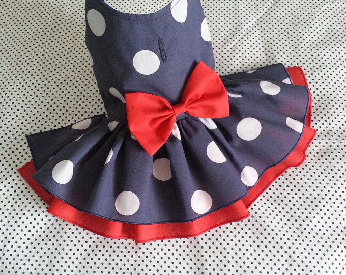 Small dog dress Chihuahua Clothing T – cup puppy Yorkie coat Flower dog outfit Wedding Party Lux