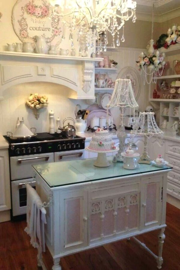 48 Creative Shabby Chic Style Kitchen Designs To Try For Your Cabin Awesome Cabin Kitchen Design Creative
