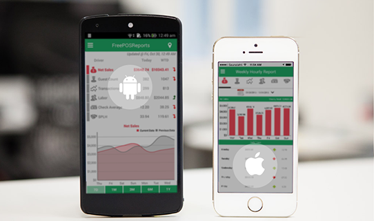 Free POS Reports Released Its Mobile Apps for Android