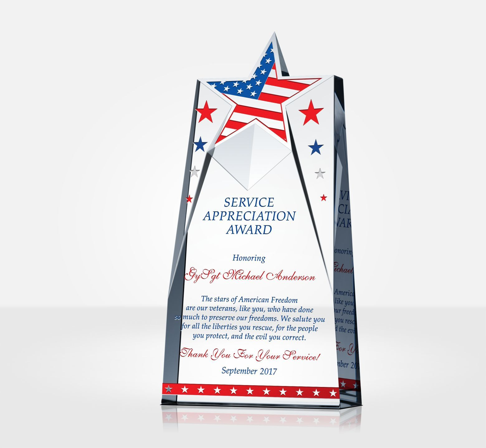 88b5179f6f9 Looking to find the right gift for Military Appreciation Day  We offer  unique thank you plaques for active members