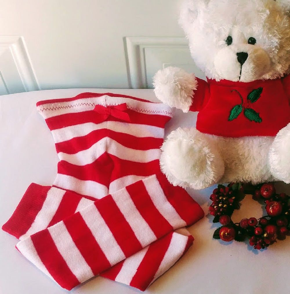 red white striped leggings christmas red white tights toddler christmas tights baby girl