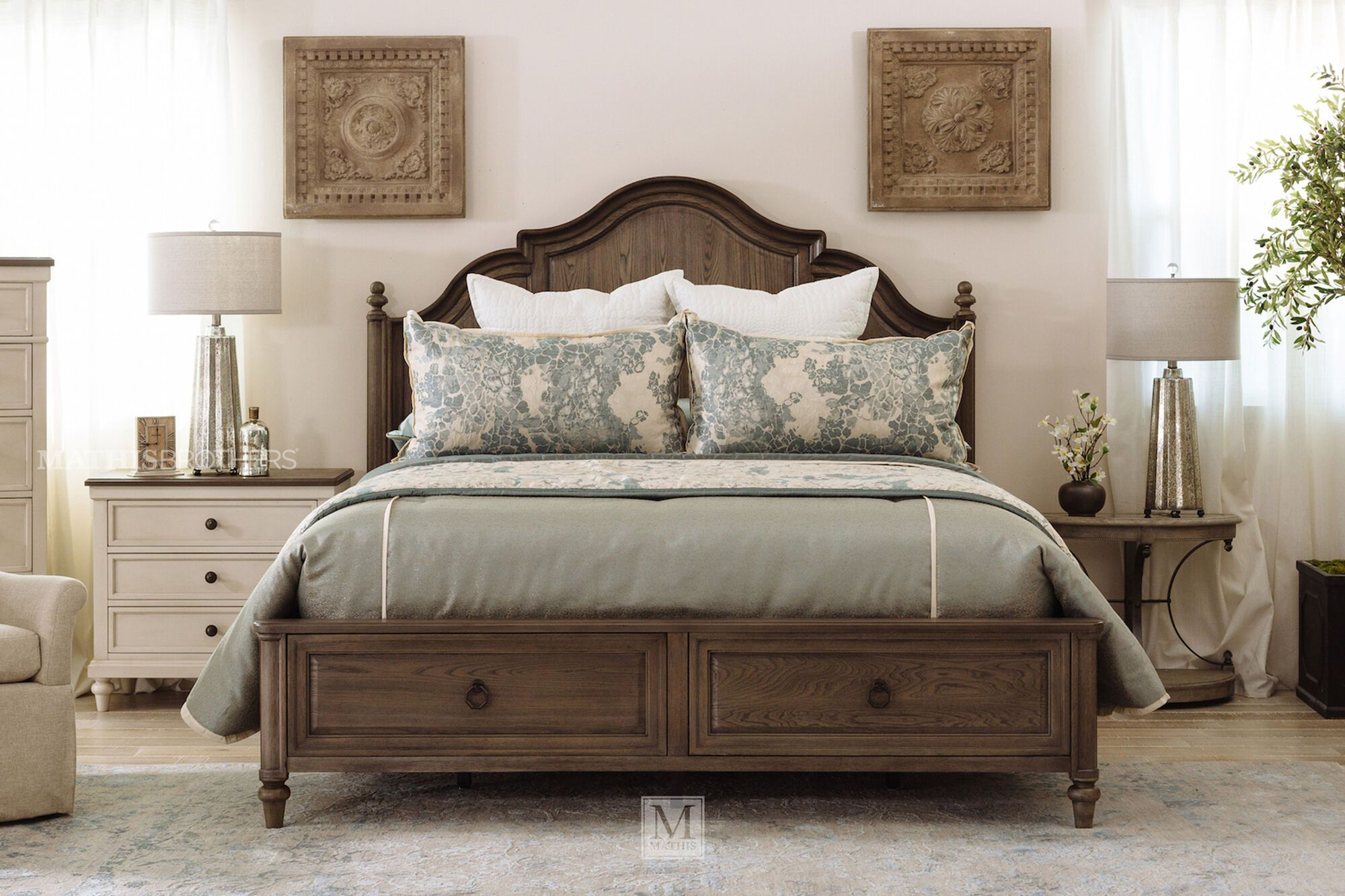 Pin by Hunt on 2305 in 2020 Panel bed, Bed, Furniture