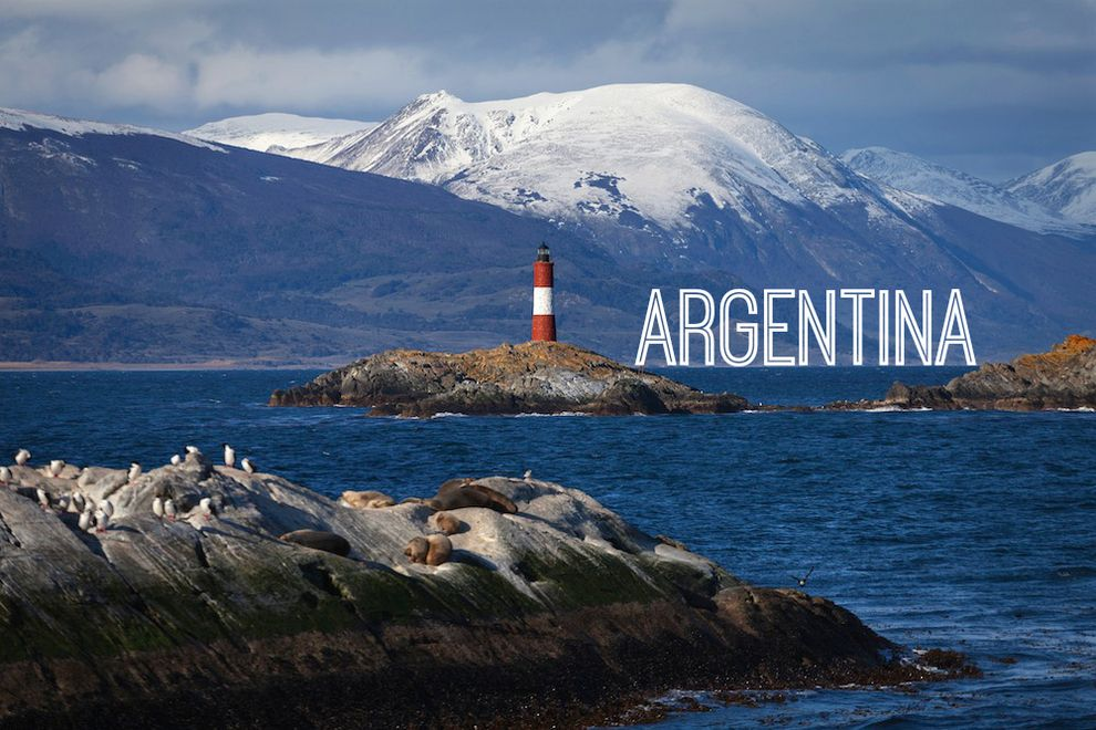 The Beagle Channel Ushuaia Argentina Cool Places To Visit