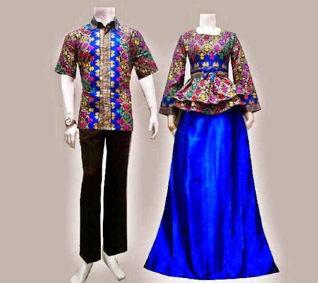 Baju Batik Gamis Modern Songket Prodo  Dayspring  Pinterest