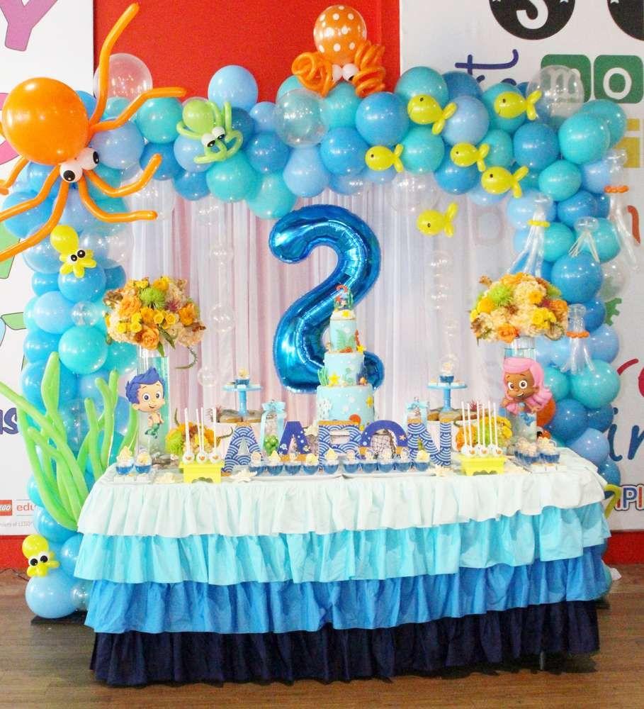 Bubble guppies birthday party ideas birthday ideas pinterest