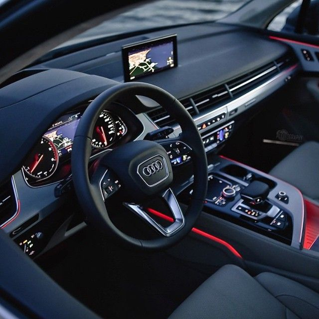 Amazing Audi Q7 Interior Go And Follow Futuregentleman Photo
