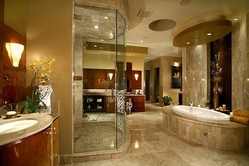 Spa Like Relaxing Master Bathrooms | Home Manchester South Bend In At  Recently Bathrooms Designs