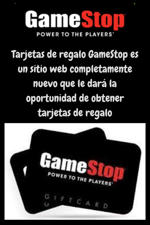 Tarjetas De Regalo Gamestop Es Un Sitio Web Completamente Nuevo Que Le Dará La Oportunidad De Gift Card Generator Get Gift Cards Gift Card