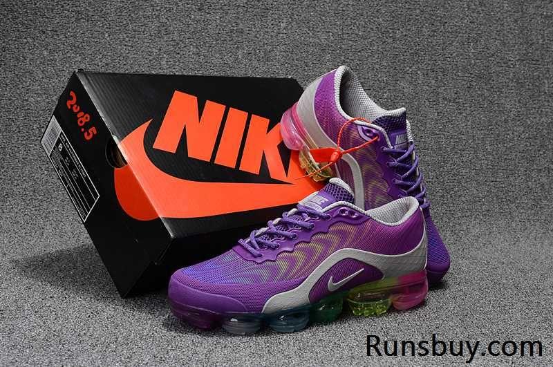 Air Maxs Cheap Nike Nike VaporMax Womens Purple Grey Pink