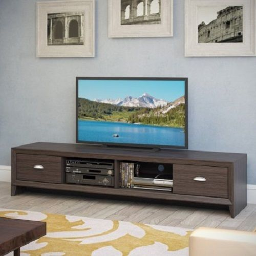80tv Stand Entertainment Center Media Console Extra Long Cabinet