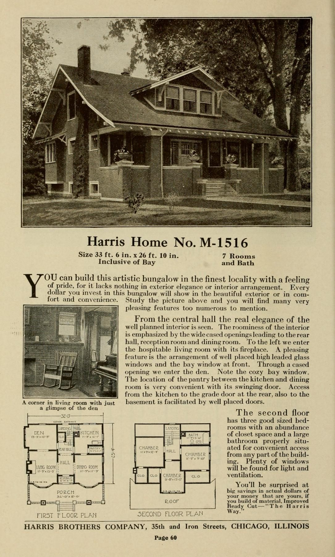 Plan book of Harris homes : book number seventy...