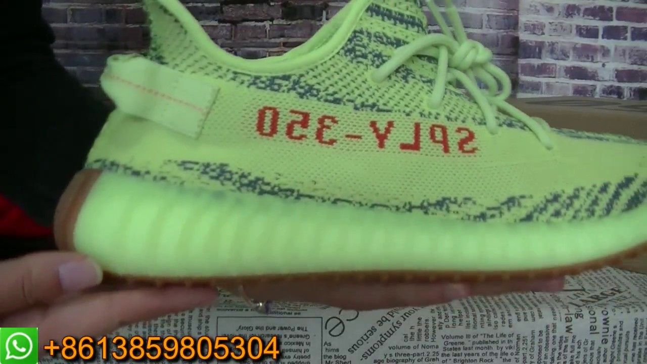 76de3829233334 YEEZY BOOST 350 V2 SEMI FROZEN YELLOW!!! THE MOST LIMITED YEEZYS ...