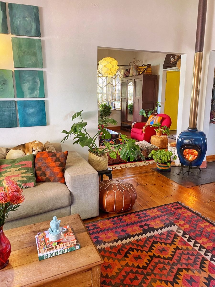 Hygge 🍁🍂🌿 in 2020   Home decor, Fireplace decor, Boho decor