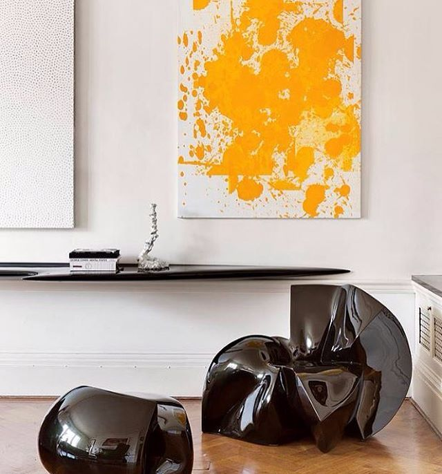 Modern Wall Art /Interior By Francis Sultana, Furniture By Zaha Hadid U0026  Fredrikson Stallard