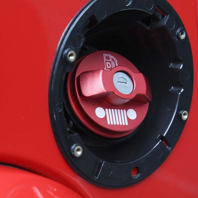 Mad Hornets Aluminium Inner Fuel Filler Gas Tank Cap Cover Jeep Wrangler 08 15 Red 22 99 Http Www Madhornets Com Alumini Jeep Wrangler Jeep Gas Tanks