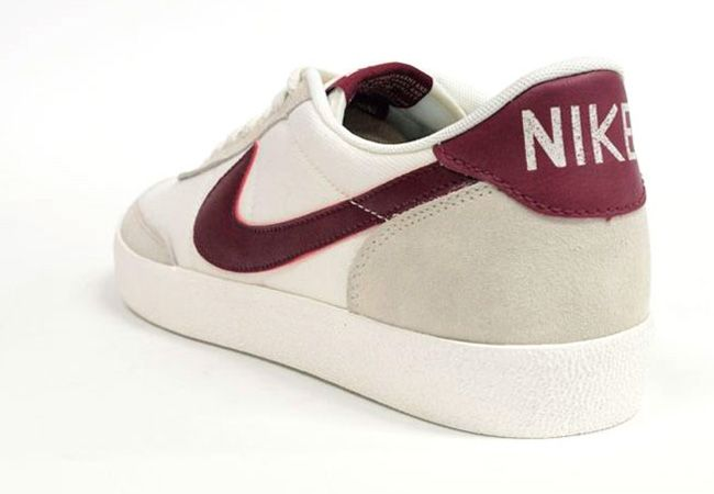 online store be868 86de0 Nike Killshot 2 - Beige  Dark Red  KicksOnFire.com