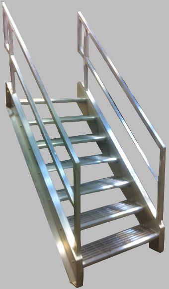 Best Welded Aluminum Prefab Stairways Galvanized Stairs Industrial Stairs Metal Stairs Open Tread 400 x 300